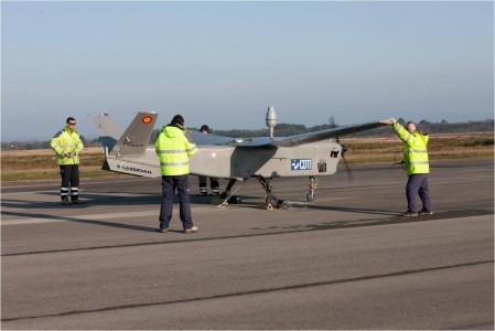 Primer vuelo UAV Cassidian Atlante