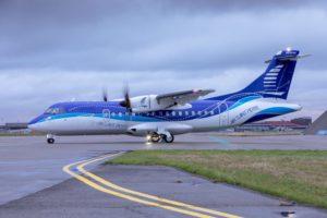 Entre las 10 entregas de ATR en 2020 solo hubo una de ATR 42, este de Air Saint Pierre.