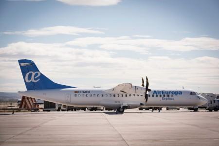 Ya están en Las Palmas los tres ATR 72-500 con los que Air Europa Express empezará su operación en las Islas Canarias.