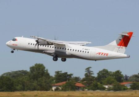 Avión ATR 72-600.