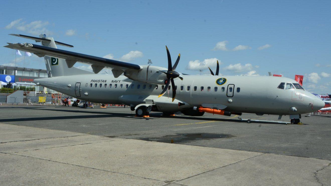 ATR72 modificado para la Marina de Paquistán para misiones de patrulla y ataque marítimo.