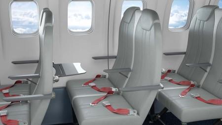 Expliseat usa dos componentes principales en la estructura de sus asientos: el titanio y la fibra de carbono