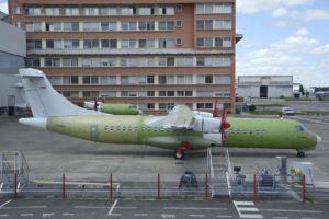 ATR ha tenido en 2108 una cuota de mercado del 62 por ciento entre los turbohélices comerciales.
