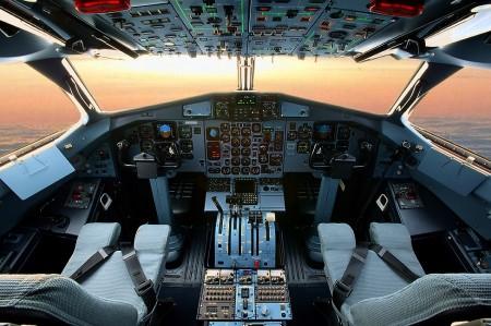 Cockpit del ATR 72-500