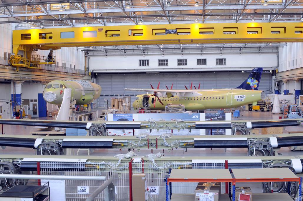 ATR tiene pedidos pendientes de entrega equivalentes a tres años de producción.