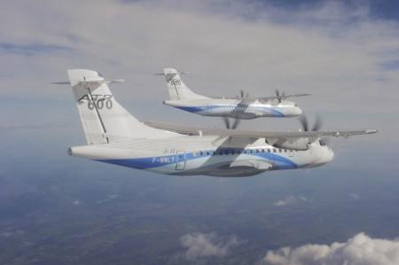 Aviones ATR 72-600 y ATR 42-600