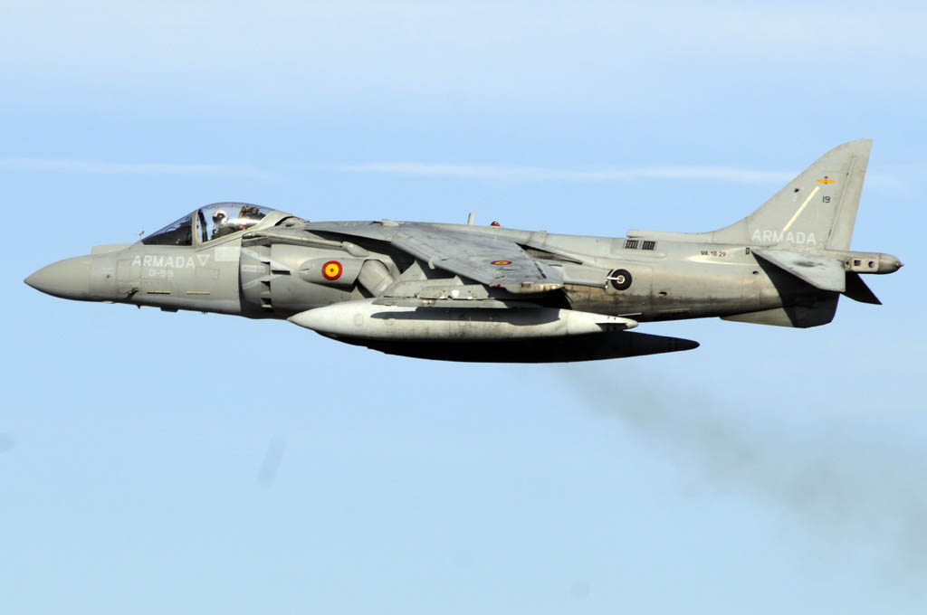 AV-8B Harrier de la Armada española VA.1B-29/01-919