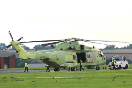Un equipo de PZL-Świdnik ha sido el encargado del montaje del AW101 polaco.