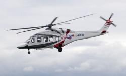 AgustaWestland tuvo además en la estática una completa representación de sus otros modelos.