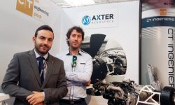 Miguel Suárez y Daniel Cristóbal, fundadores de Axter Aerospace.