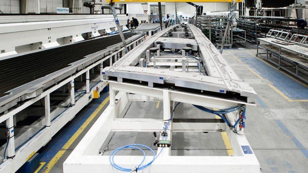 Última pieza para el Airbus A380 fabricada en la factoría de Aciturri en Boecillo.
