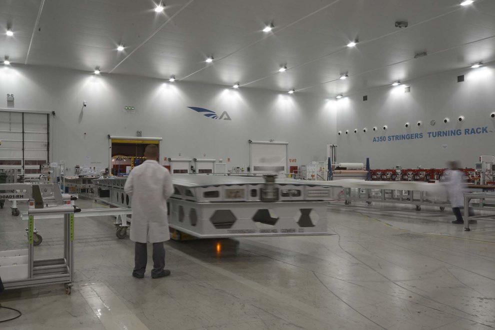 Instalaciones de Aciturri Aerostructures en Boecillo