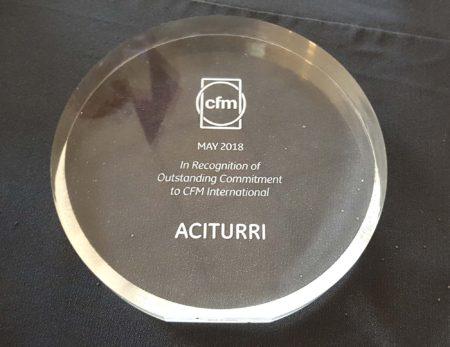 CFM ha premiado en 2018 a cuatro de sus  150 suministradores en el programa LEAP.