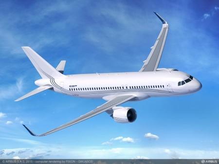 Airbus lanza en EBACE la versión neo del ACJ320