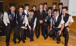 Once alumnos se graduaron en la decimotercera promoción del CESDA