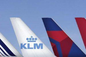 Nuevo acuerdo comerical entre Air France, KLM, Delta y Virgin Atlantic.