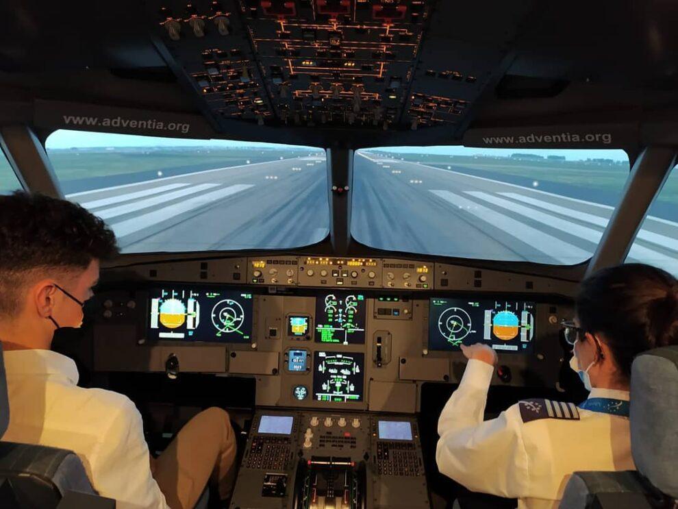 Adventia es la primera escuela española en ofrecer 300 horas certificadas de vuelo en un curso ATPL.