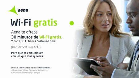 El nuevo servicio wifi en los aeropuertos españoles es una importante mejora respecto al servicio ofrecido hasta ahora