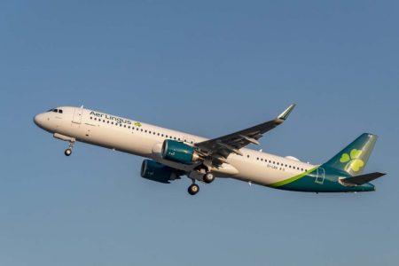 Aer Lingus  comenzará a volar a Estados Unidos  con sus nuevois Airbus A321LR , que luego complementará con el A321XLR.
