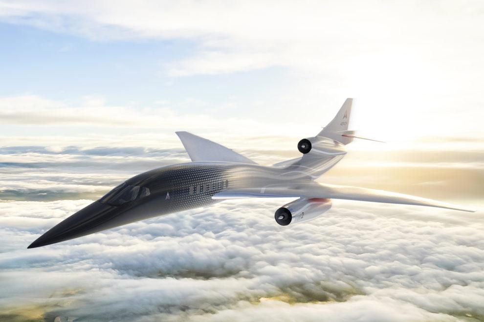 Este era el último aspecto que presentaba el Aerion SB-2.