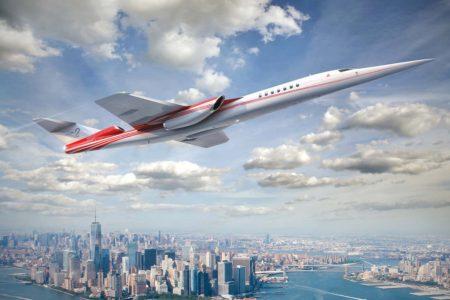 Uno de los varios diseños por el que ha pasado el Aerion SB-2 desde 2002.
