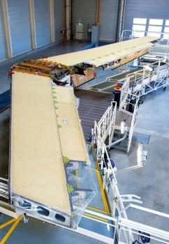 Estabilizador horizontal producido por Aernnova.