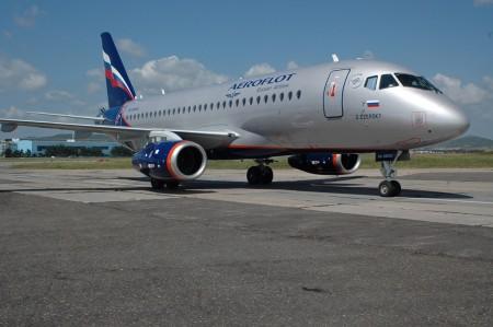 Sukhoi Super Jet 100 de Aeroflot