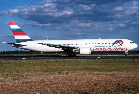 Boeing 767 de Paraguay Airlines Aerolap