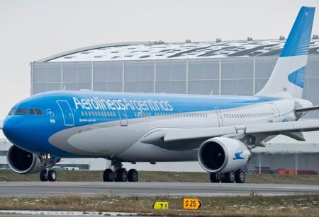 LV-FVH el nuevo A330 de Aerolíneas Argentinas.