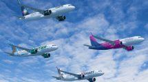 El pedido de Indigo Partners se repartirá entre cuatro aerolíneas en las que la empresa tiene participaciones accionariales.