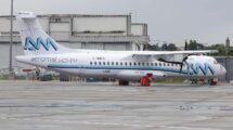 Uno de los ATR 72-600 de Aeromar en Toulouse poco antes de su entrega hace cuatro años.
