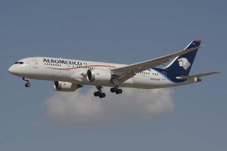El Boeing 787 será el avión con el que Aeroméxico crezca en Europa.