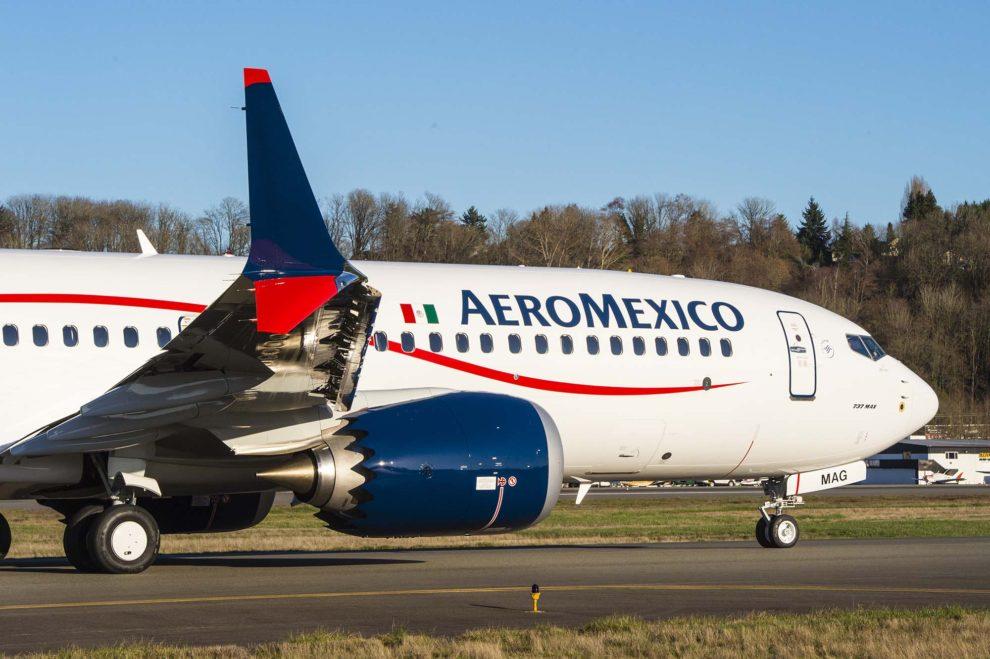 Entre las entregas en el primer trimestre de 2018 estuvo la del primer Boeing 737 MAX para Aeroméxico.