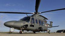 El primero de 17 HH-139B de la Aeronáutica Militar italiana en su base de Cervia.