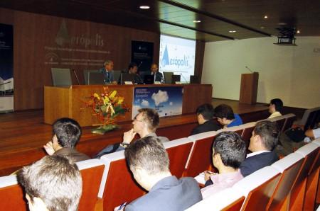 Jornada sobre nuevas tecnologías en Aerópolis