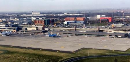 Aeropuerto de Charleroi al sur de Bruselas.