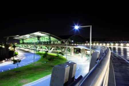 Aeropuerto de Hamad en Doha. pincha sobre la imagen para acceder a los aeropuertos premiados este año por Skytrax.