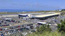 Terminal del aeropuerto de Ponta Delgada en Azores, nuevo destino de Iberia.