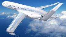 Airbus lleva varias décadas trabajando en aviones ultraeficientes. El Concept Plane fue uno de los primeros diseños mostrados.