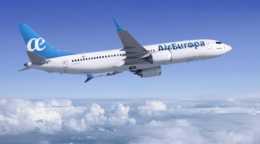 Finalmente son sólo 20 los Boeing 737 MAX 8 comprados por Air Europa.