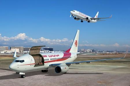Air Algerie además de la carta de intenciones para los B-737-800BCF es el cliente lanzador del B-737-700 Combi.