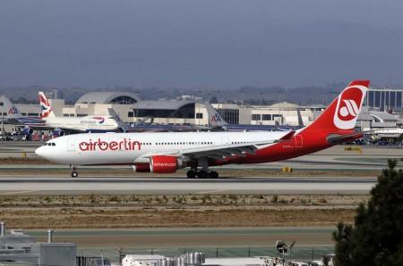 El 15 de octubre Air Berlin cesará sus vuelos de largo radio, El de Los Ángeles (en la foto) se dejó de operar el 15 de septiembre.