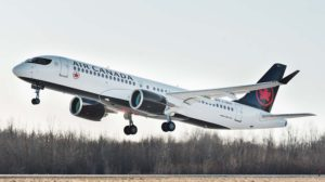 Primer despegue de un Airbus A220 destinado a Air Canada