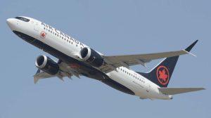 Air Canadá usa sus Boeing 737 MAX incluso en vuelos transatlánticos a Londres heathrow.