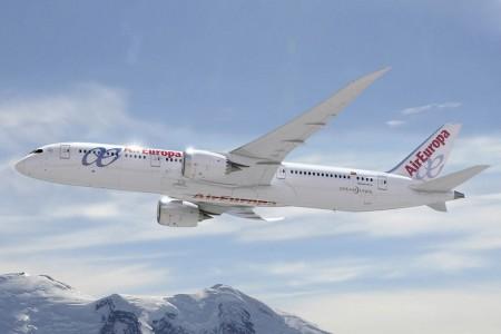 Air Europa comenzará a recibir sus propios Boeing 787  en 2016.