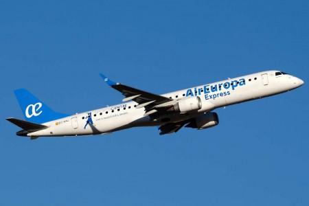 Embraer E190 transferido de Air Europa a Aeronova / Air Europa Express (foto: Diego Ruiz de Vargas)