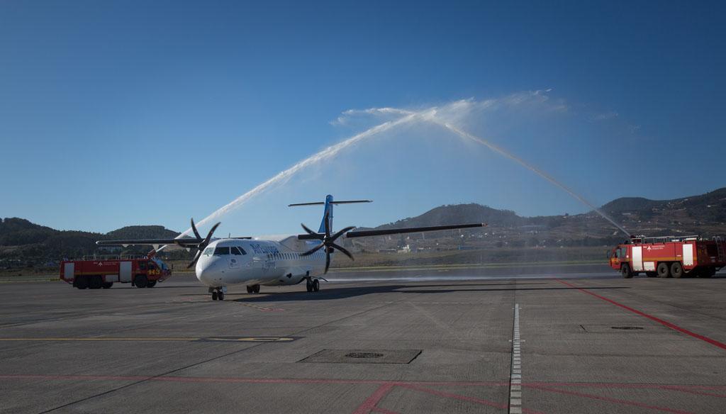 Brokair se encarga del mantenimiento en linea de la flota de Air Europa Ex press en Canarias.