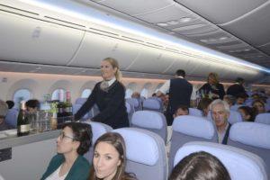 Fuerte incremento del número de pasajeros transportados por Air Europa en 2019.