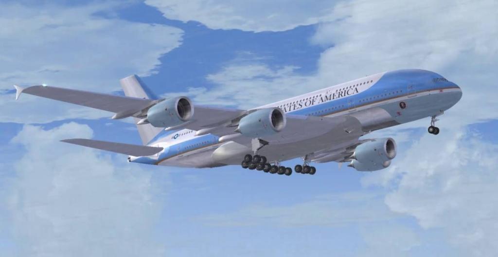 cf7233c2c733f En su día Airbus tuvo que desmentir que ofrecía el A380 a la USAF como Air