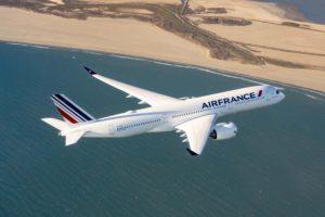 Air France-KLM compró 28 A350, 21 para Air France y 7 para KLM, pero después decidió unificar toda la flota en la primera.
